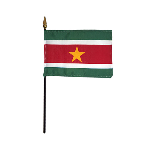 Miniature Suriname Flag - ColorFastFlags | All the flags you'll ever need!