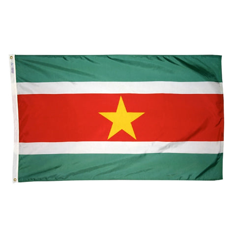 Suriname Flag - ColorFastFlags | All the flags you'll ever need!