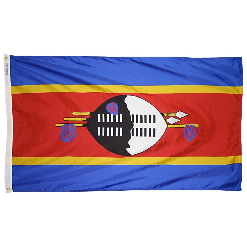 Swaziland Flag - ColorFastFlags | All the flags you'll ever need!