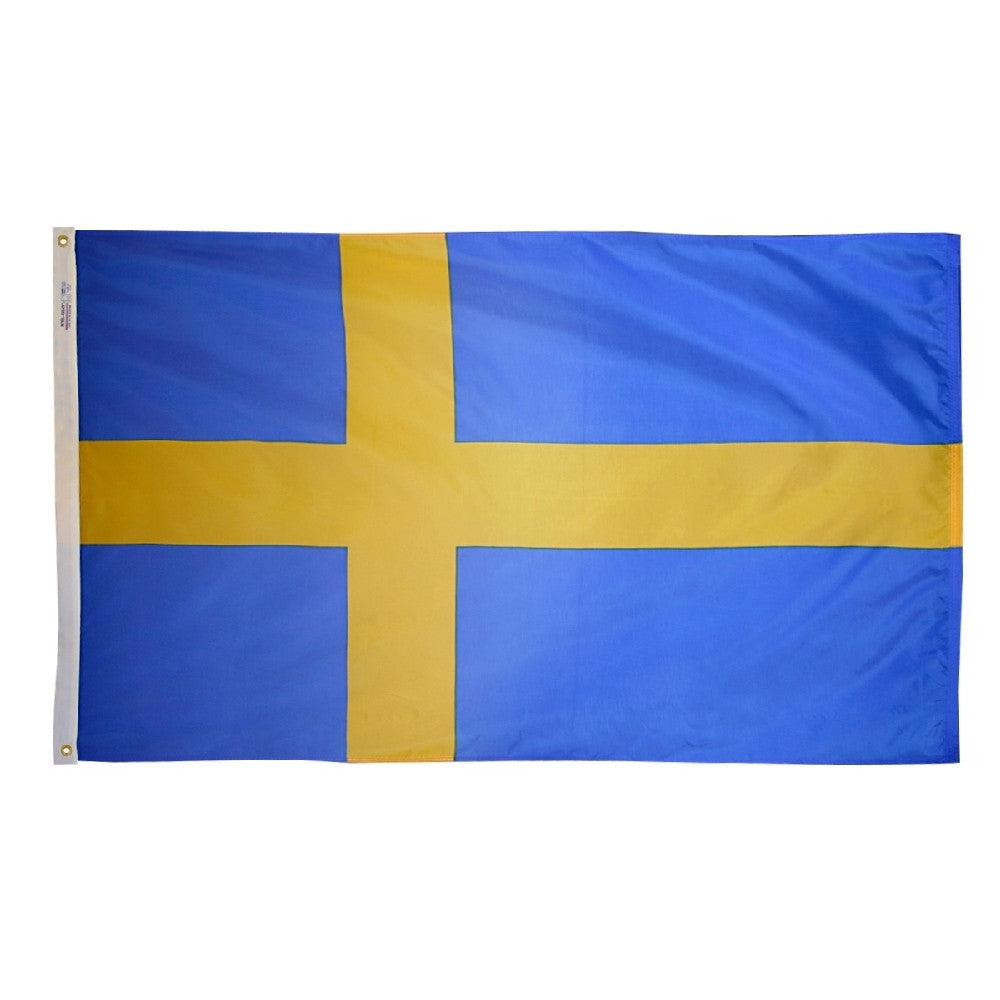 Sweden Flag - ColorFastFlags | All the flags you'll ever need!