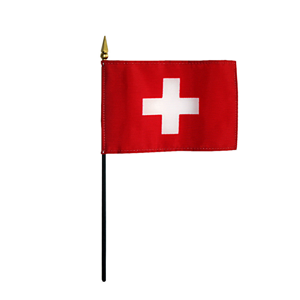 Miniature Switzerland Flag - ColorFastFlags | All the flags you'll ever need!