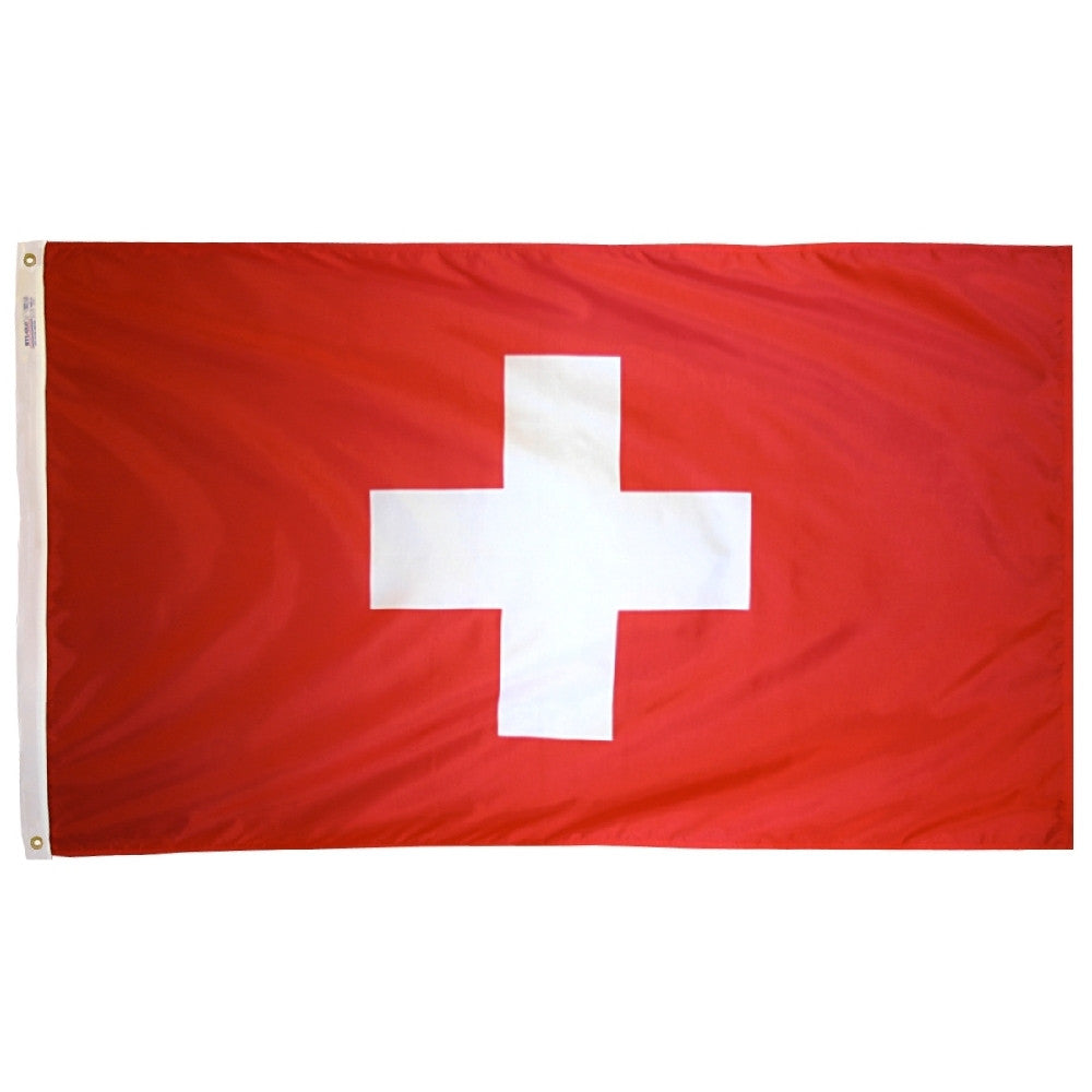 Switzerland Flag - ColorFastFlags | All the flags you'll ever need!