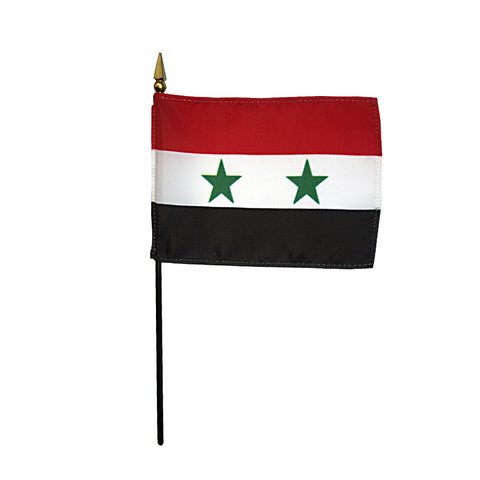 Miniature Syria Flag - ColorFastFlags | All the flags you'll ever need!