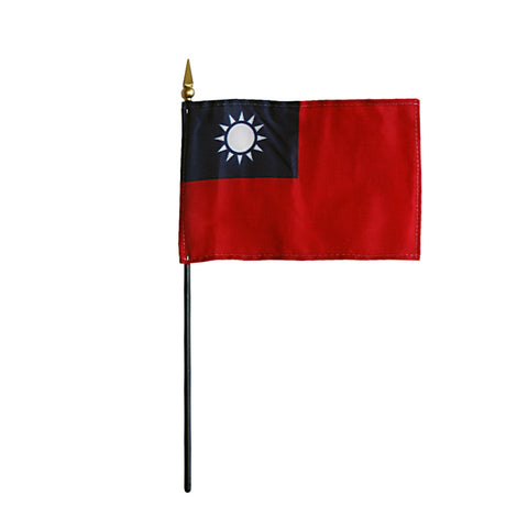 Miniature Taiwan Flag - ColorFastFlags | All the flags you'll ever need!   - 2