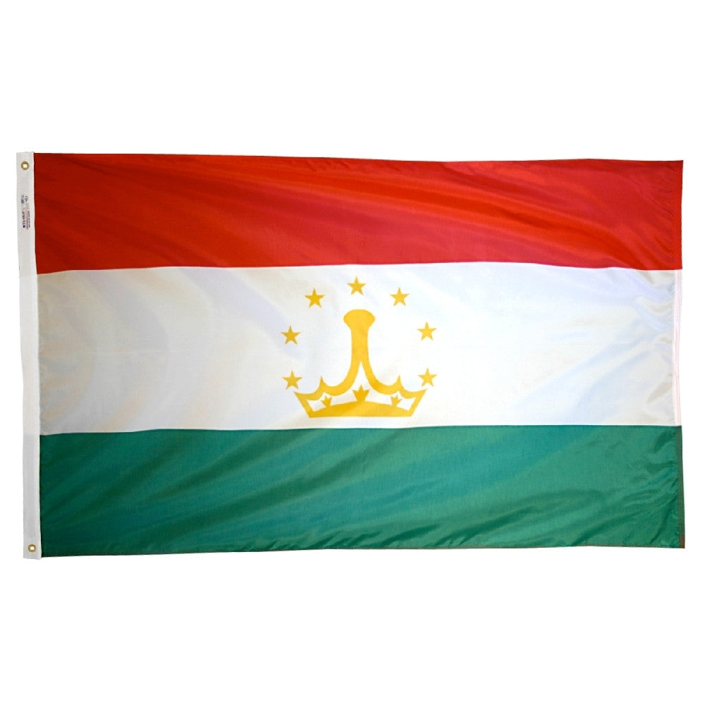 Tajikistan Flag - ColorFastFlags | All the flags you'll ever need!