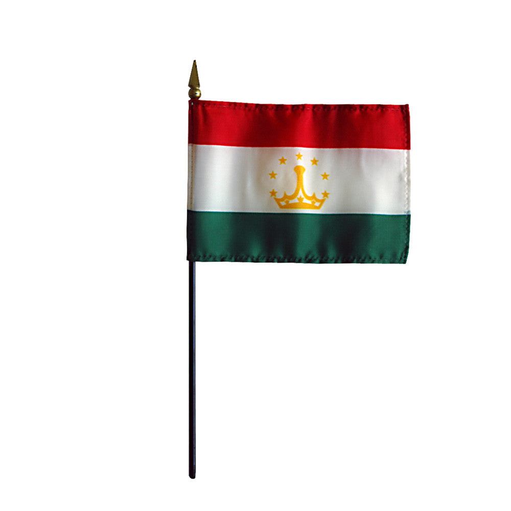 Miniature Tajikistan Flag - ColorFastFlags | All the flags you'll ever need!