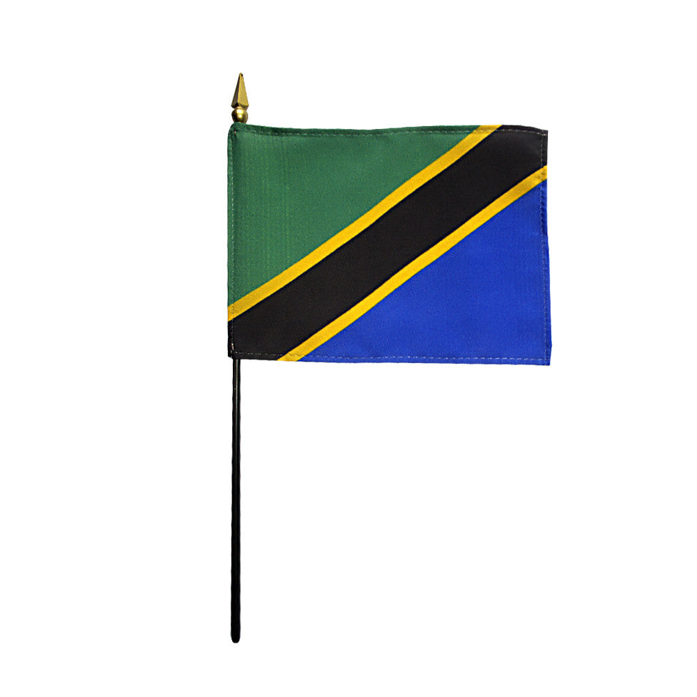 Miniature Tanzania Flag - ColorFastFlags | All the flags you'll ever need!   - 2