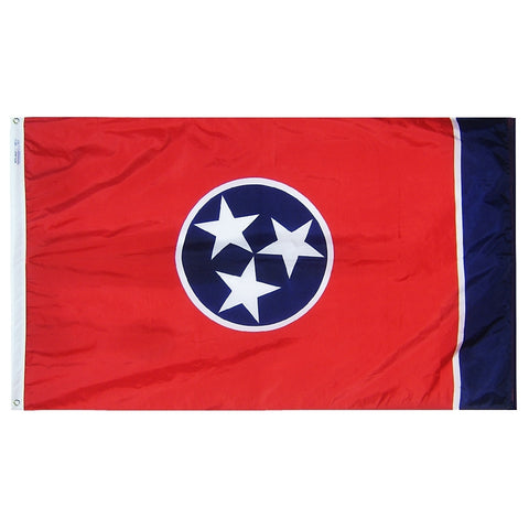 "Tennessee Courtesy Flag 12"" x 18"" - ColorFastFlags 