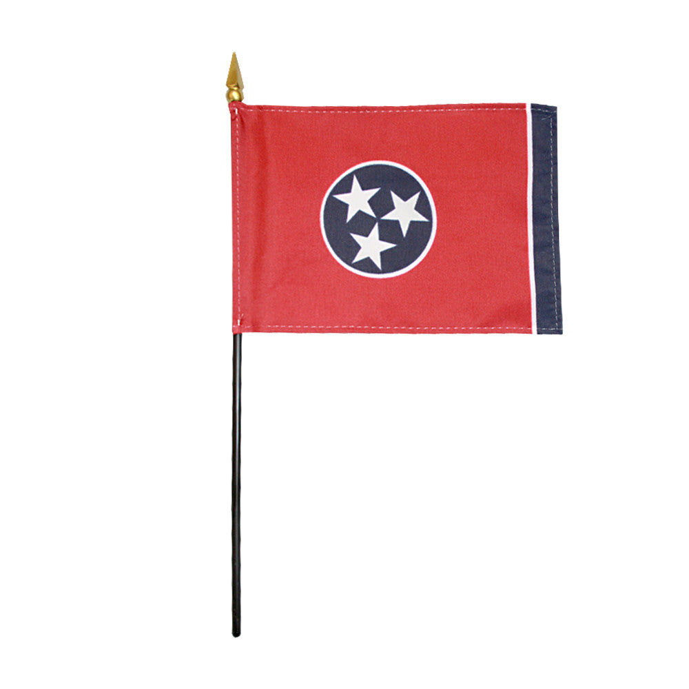 Miniature Flag - Tennessee - ColorFastFlags | All the flags you'll ever need!