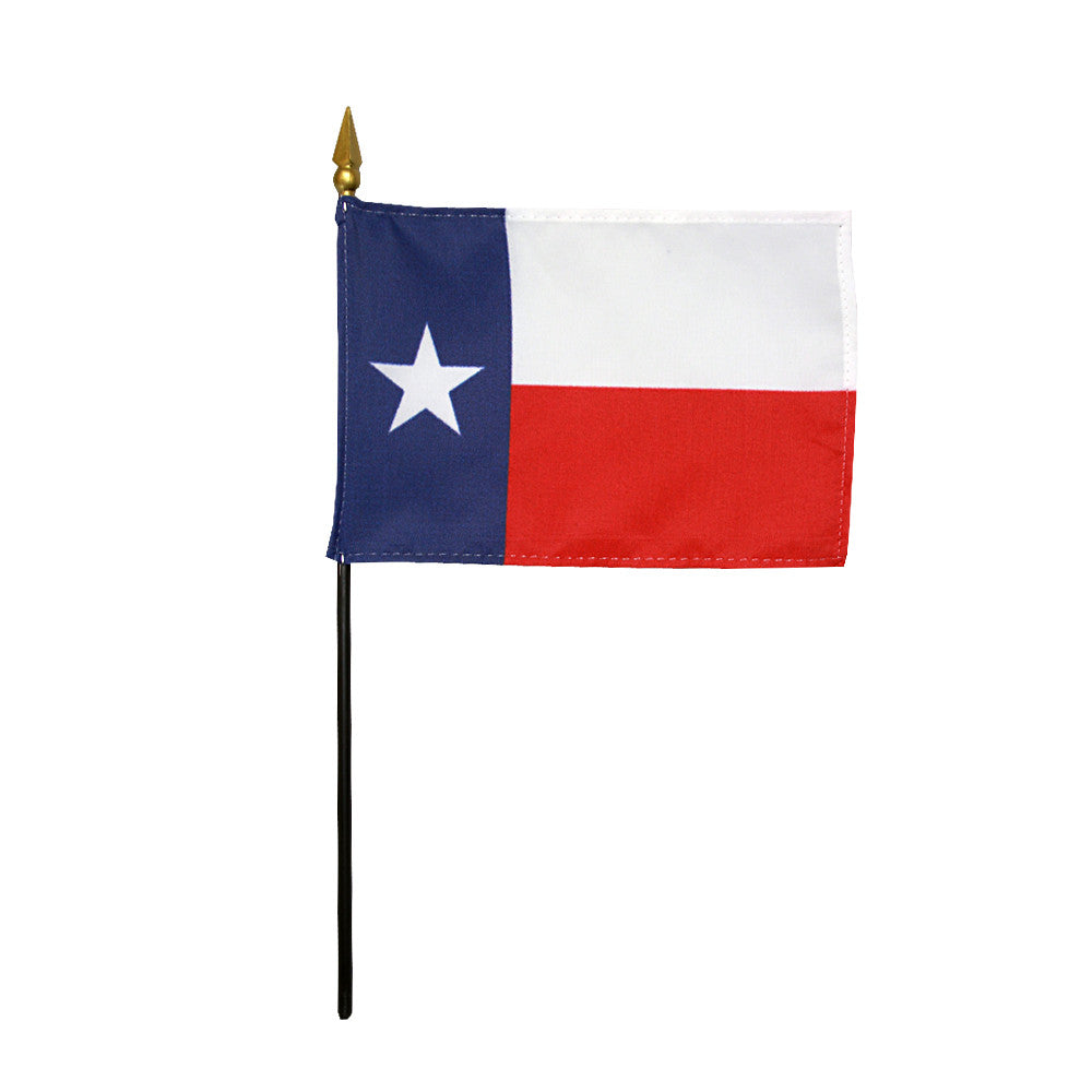 Miniature Flag - Texas - ColorFastFlags | All the flags you'll ever need!