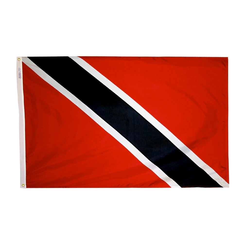 "Trinidad & Tobago Courtesy Flag 12"" x 18"" - ColorFastFlags 