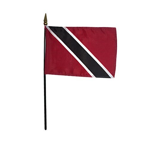 Miniature Trinidad & Tobago Flag - ColorFastFlags | All the flags you'll ever need!