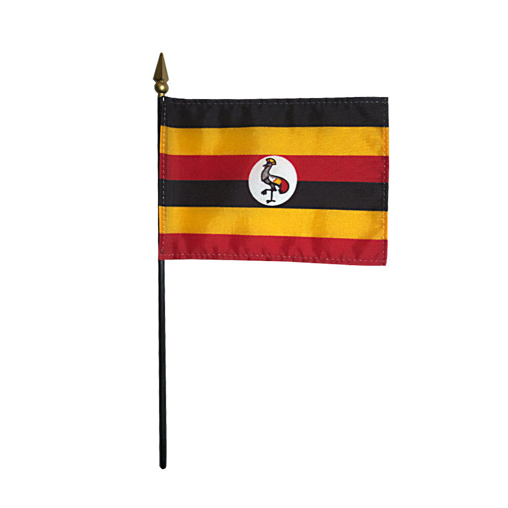 Miniature Uganda Flag - ColorFastFlags | All the flags you'll ever need!