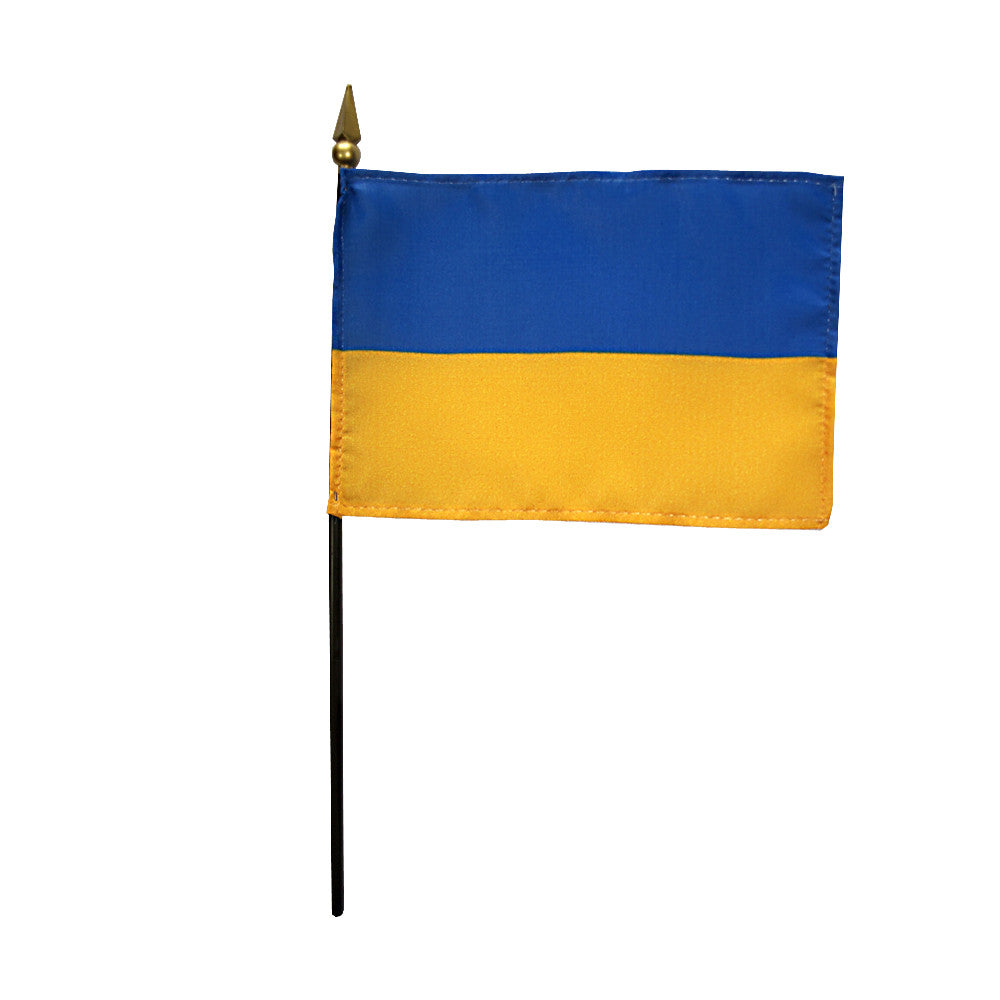 Miniature Ukraine Flag - ColorFastFlags | All the flags you'll ever need!