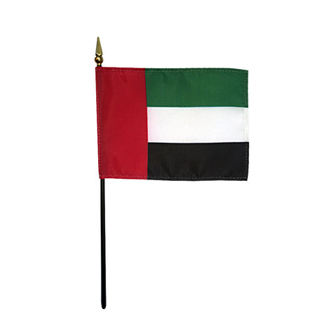 Miniature United Arab Emirates Flag - ColorFastFlags | All the flags you'll ever need!