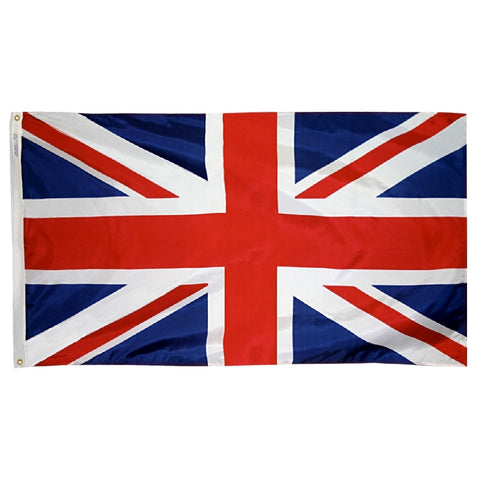 "United Kingdom Courtesy Flag 12"" x 18"" - ColorFastFlags 
