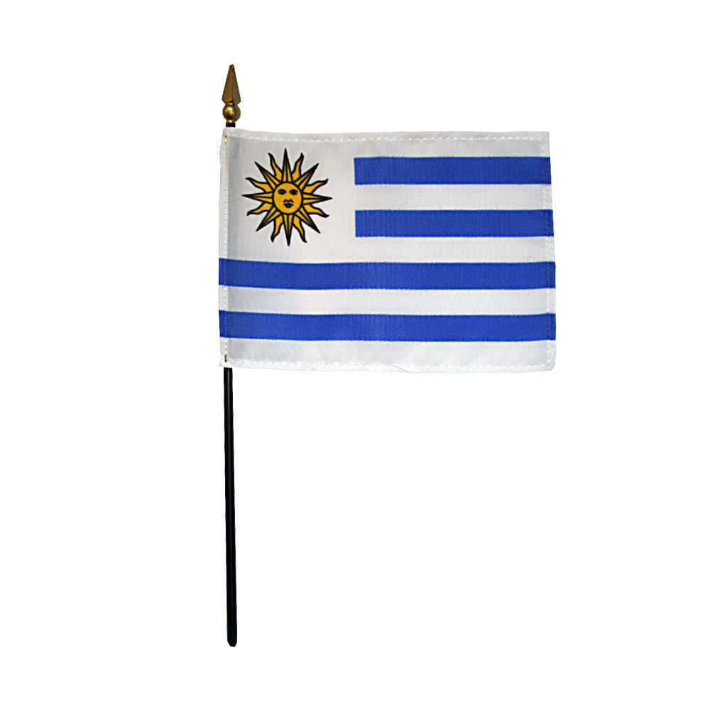 Miniature Uruguay Flag - ColorFastFlags | All the flags you'll ever need!