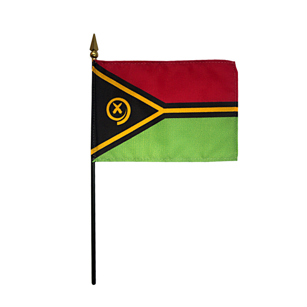 Miniature Vanuatu Flag - ColorFastFlags | All the flags you'll ever need!