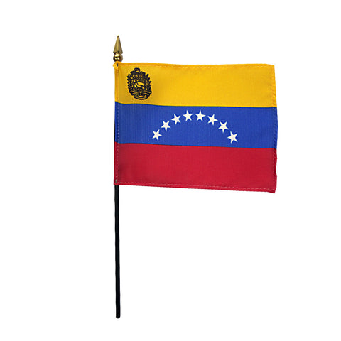 Miniature Venezuela Flag - ColorFastFlags | All the flags you'll ever need!