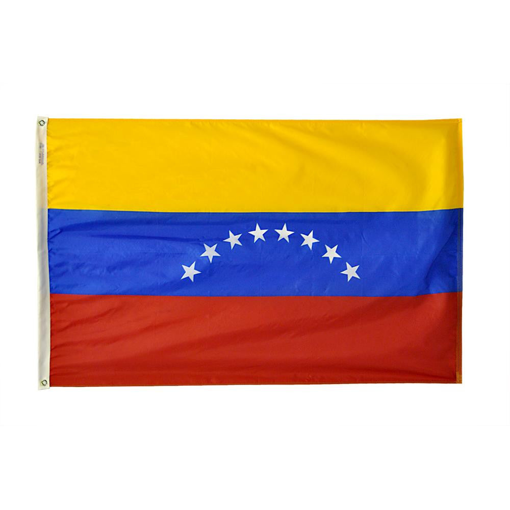 "Venezuela Courtesy Flag 12"" x 18"" - ColorFastFlags 
