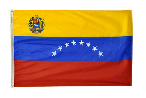 Venezuela Government Flag -