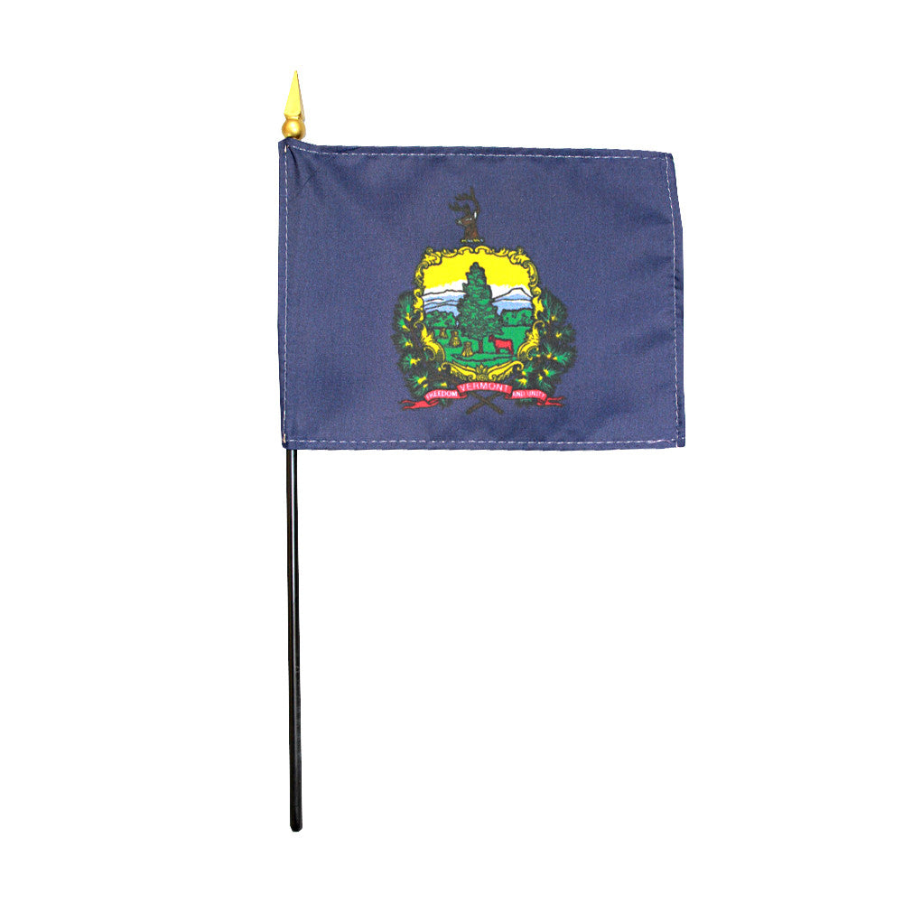 Miniature Flag - Vermont - ColorFastFlags | All the flags you'll ever need!