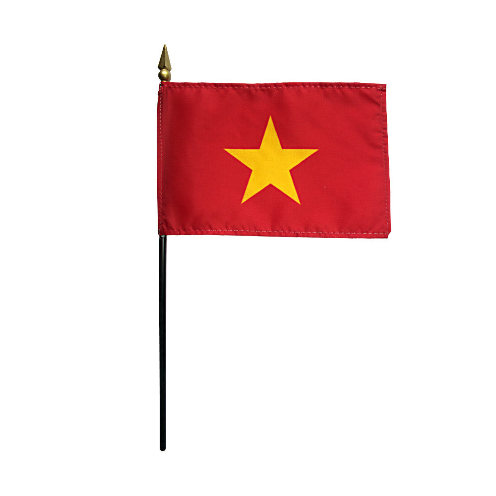 Miniature Vietnam Flag - ColorFastFlags | All the flags you'll ever need!