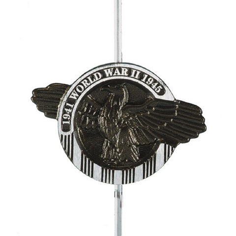 Aluminum Grave Marker - WWII - ColorFastFlags | All the flags you'll ever need!