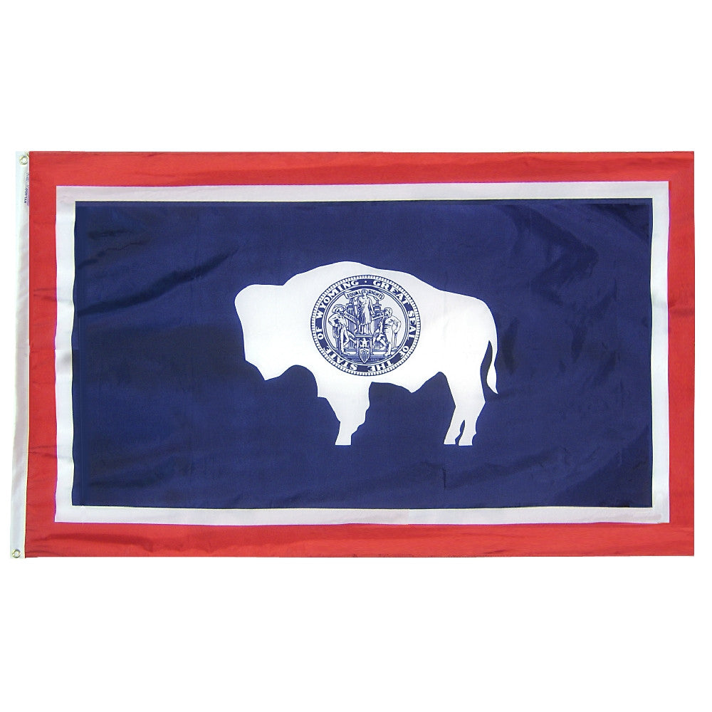 Wyoming State Flags - ColorFastFlags | All the flags you'll ever need!