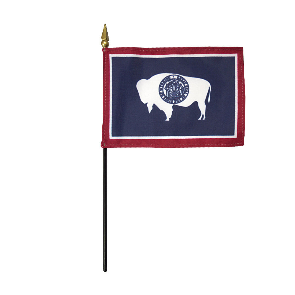 Miniature Flag - Wyoming - ColorFastFlags | All the flags you'll ever need!