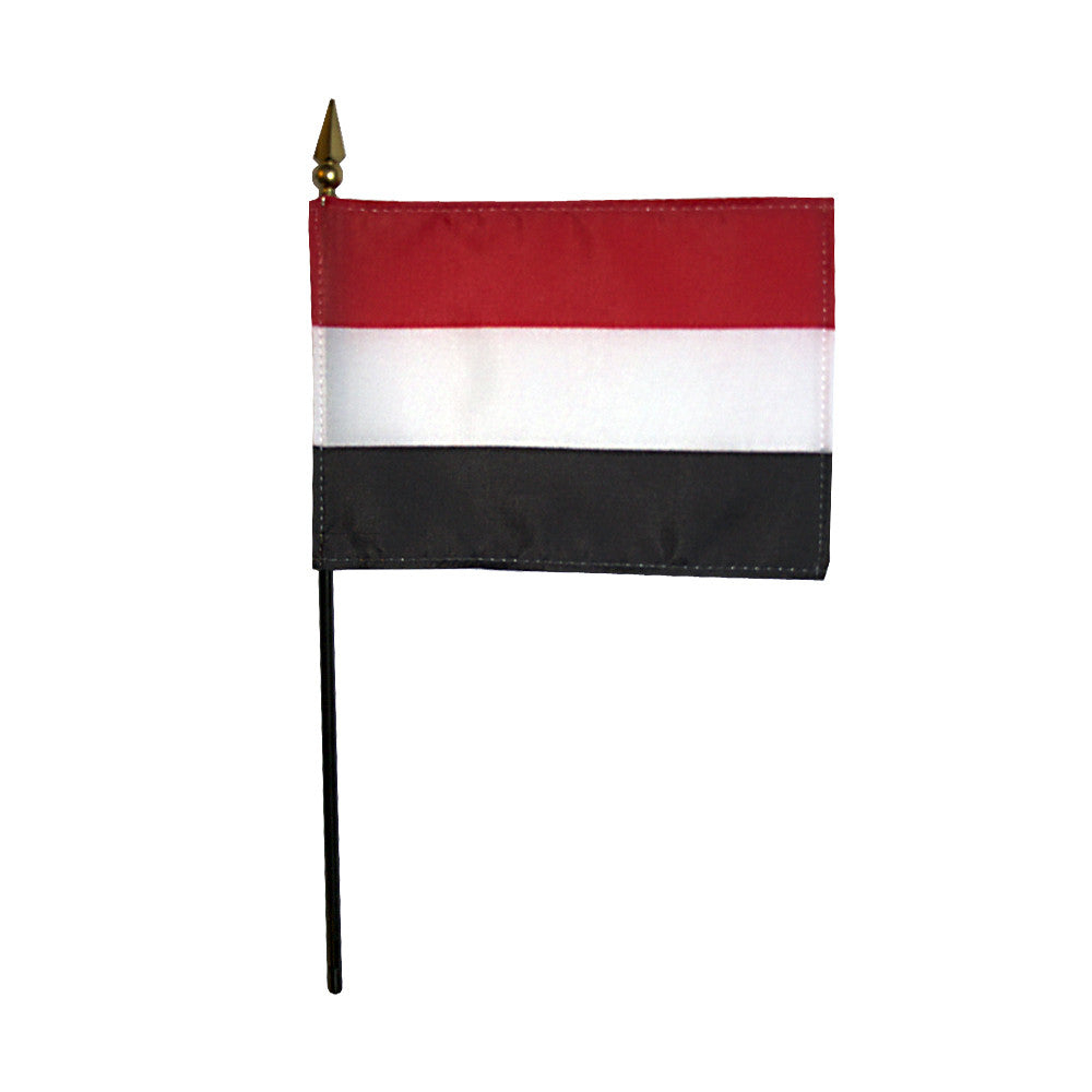 Miniature Yemen Flag - ColorFastFlags | All the flags you'll ever need!