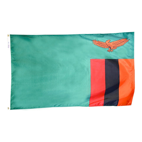 Zambia Flag - ColorFastFlags | All the flags you'll ever need!  - 2