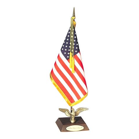 Ambassador U.S. Flag Desk Set - ColorFastFlags | All the flags you'll ever need!