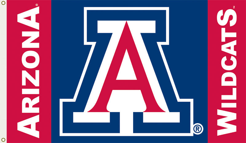 Officially Licensed Arizona Wildcats 3' x 5' Flags - ColorFastFlags | All the flags you'll ever need!
