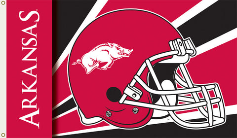 Officially Licensed Arkansas Razorbacks 3' x 5' Flags - ColorFastFlags | All the flags you'll ever need!