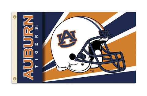 Officially Licensed Auburn Tigers 3' x 5' Flags - ColorFastFlags | All the flags you'll ever need!