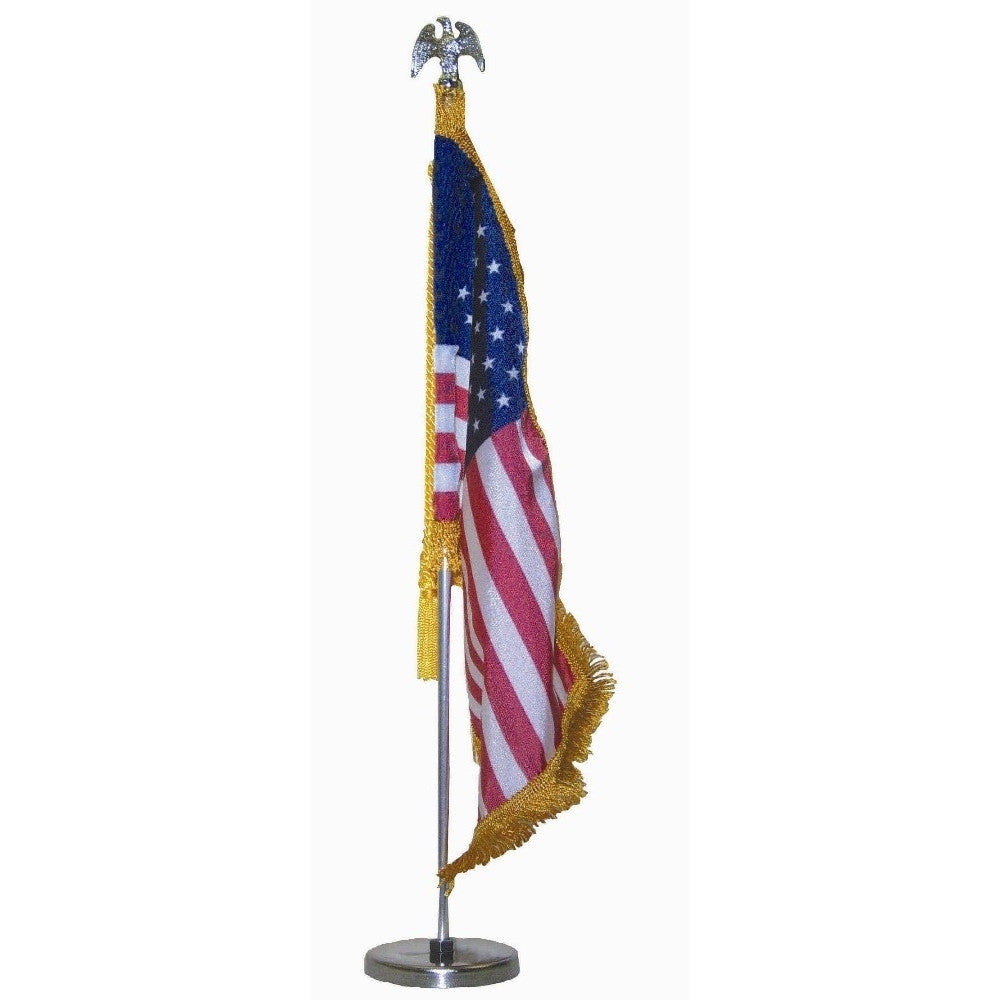 Magnetic Auto Fender U.S. Flag Set with Eagle Ornament - ColorFastFlags | All the flags you'll ever need!
