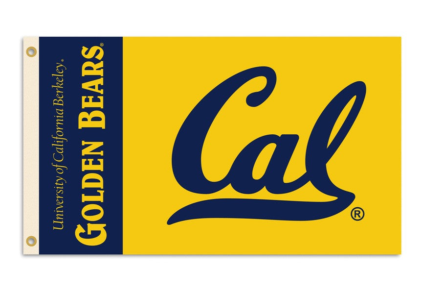 Officially Licensed Cal Berkeley Golden Bears 3' x 5' Flags - ColorFastFlags | All the flags you'll ever need!