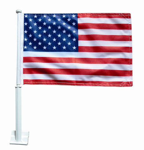 American Car Window Flag - ColorFastFlags | All the flags you'll ever need!