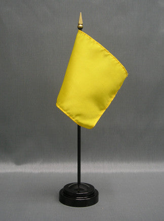 Miniature Caution Flag - ColorFastFlags | All the flags you'll ever need!