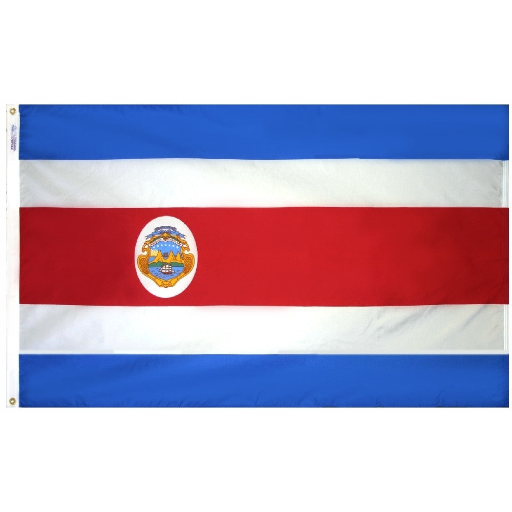 Costa Rica Flag - ColorFastFlags | All the flags you'll ever need!