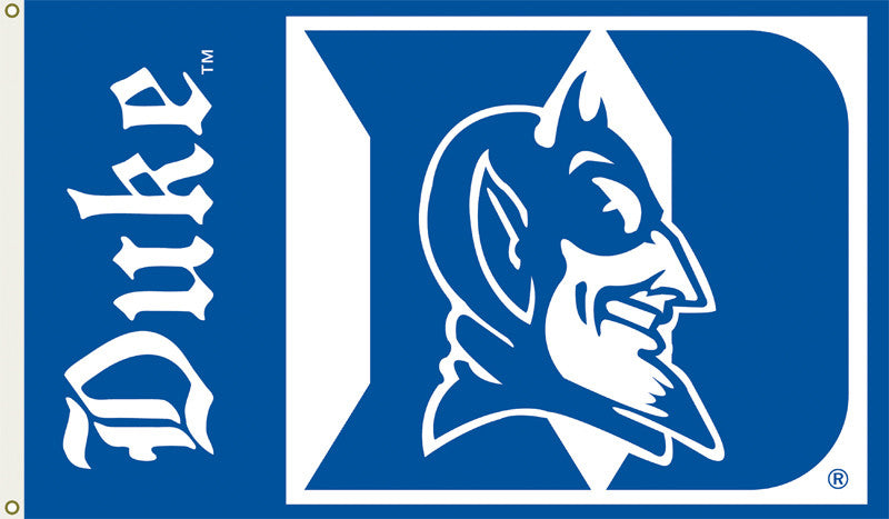 Officially Licensed Duke Blue Devils  3' x 5' Flags - ColorFastFlags | All the flags you'll ever need!
