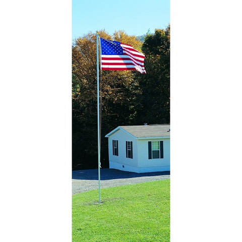 20' Patriot Model Aluminum Flagpole - ColorFastFlags | All the flags you'll ever need!