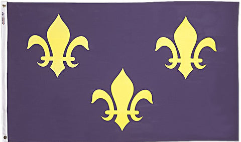 French Fleur-de-Lis Flag - ColorFastFlags | All the flags you'll ever need!
