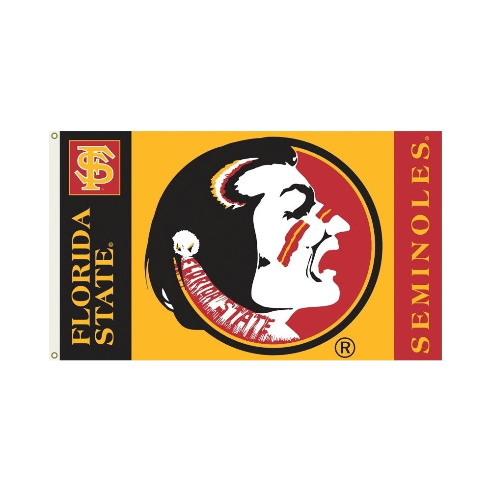 Officially Licensed Florida State Seminoles 3' x 5' Flags - ColorFastFlags | All the flags you'll ever need!