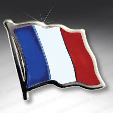 France Lapel Pin - ColorFastFlags | All the flags you'll ever need!
