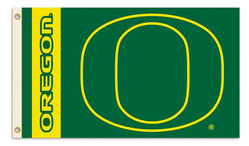 Officially Licensed Oregon Ducks 3' x 5' Flags - ColorFastFlags | All the flags you'll ever need!