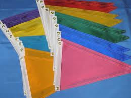 Solid Color Pennants - ColorFastFlags | All the flags you'll ever need!