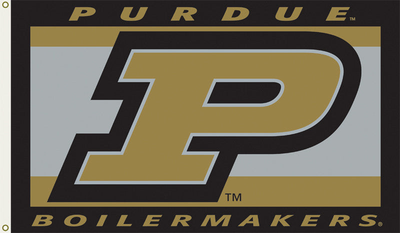 Officially Licensed Purdue Boilermakers 3' x 5' Flags - ColorFastFlags | All the flags you'll ever need!