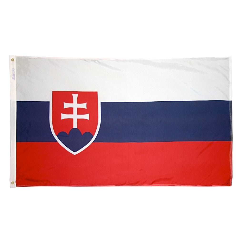 Slovak Republic Flag -